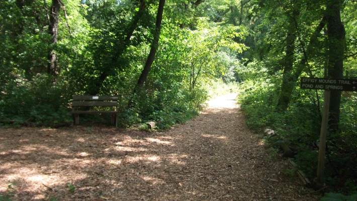 Nitschke Mounds Park - Trail