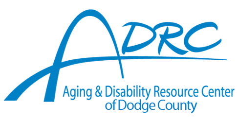 new ADRC logo with of Dodge County 02-2016