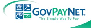 GovPay Logo that links to a way of payment for classes