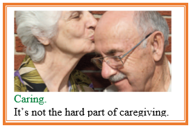 not the hard part of caregiving